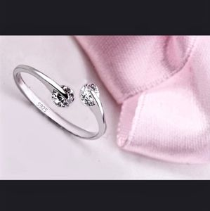 925 silver adjustable ring